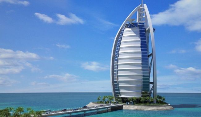 Burj al arab tour top dubai attractions for Top resorts in dubai